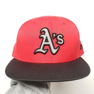 OAKLAND ATHLETICS 59FIFTY NEW ERA FITTED HAT 7 3/8